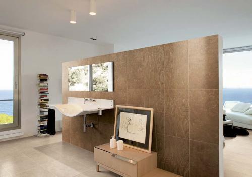 Bathroom-wall-tile-Porcelain-stoneware Ceramiche-Coem Marfil